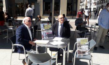 Los hosteleros de Zaragoza trasladan al Gobierno sus  reivindicaciones