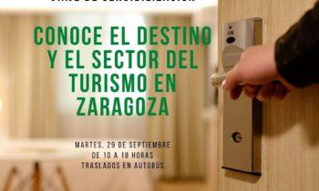 Resumen del viaje de sensibilización por la provincia organizado por Horeca Hoteles Zaragoza