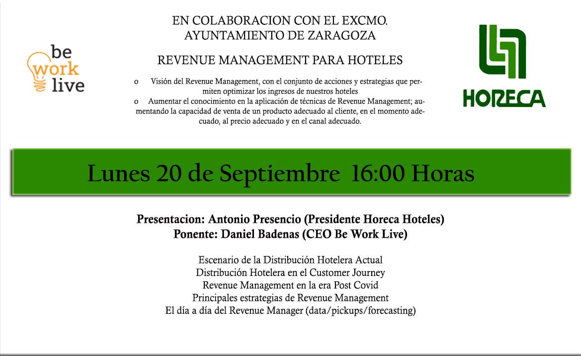 'Revenue management para hoteles'