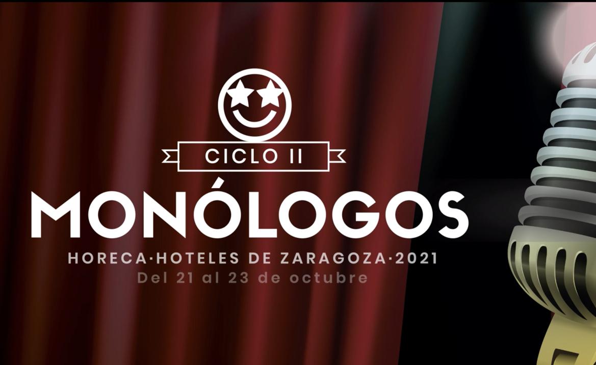 Ciclo Monólogos Horeca Hoteles Zaragoza